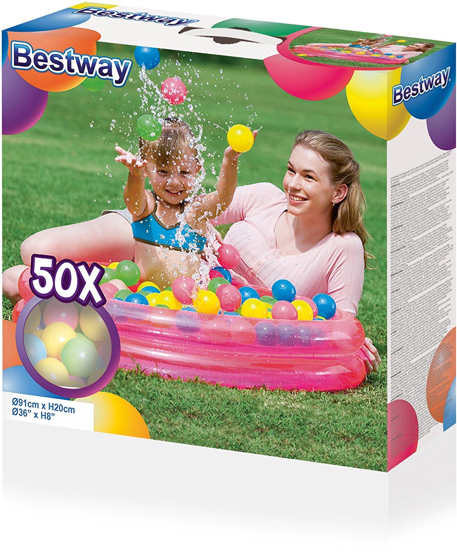 Detský nafukovací bazén s loptičkami